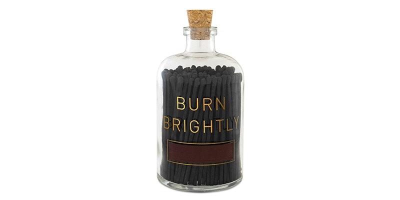 burn brightly matches