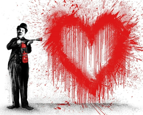 Mr. Brainwash�� Spray Love