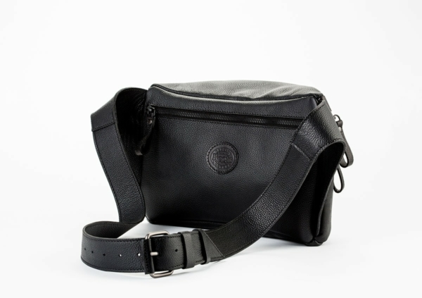 NK x Roots Leather Pouch