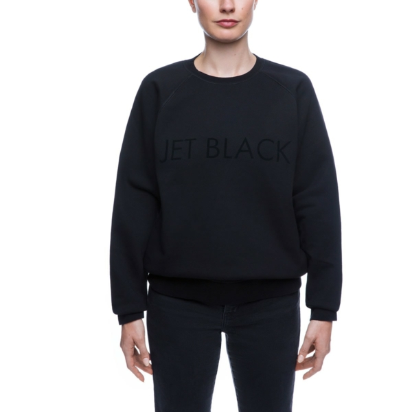 NK X Brunette The Label Sweatshirt- jet black
