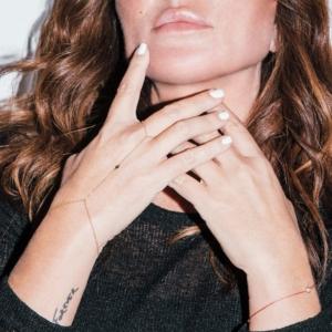 Natasha wearing bracelet
