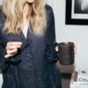 Leather & Lace Scented ��ratitude��Candle